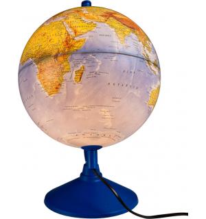Işıklı Fiziki Küre (Fiziki + Siyasi)