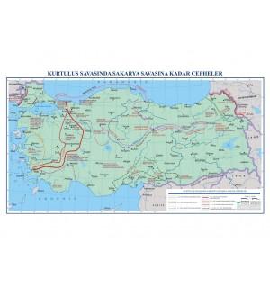 Kurtuluş Savaşı'nda Sakarya Savaşı'na Kadar Cepheler (85*120)