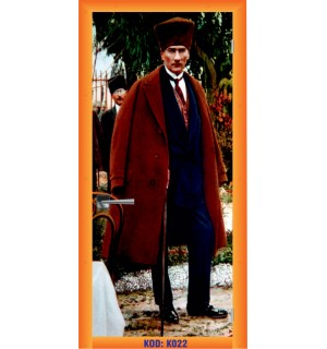 Mustafa Kemal Atatürk K022