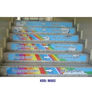 Merdiven Yazıları M002
