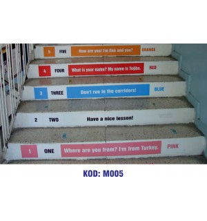 Merdiven Yazıları M005