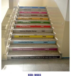 Merdiven Yazıları M003