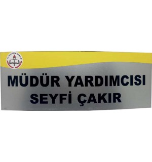 Anadolu Yönlendirme Kapı İsimliği 10*27,5