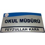 Anadolu Yönlendirme Kapı İsimliği 12*27,5